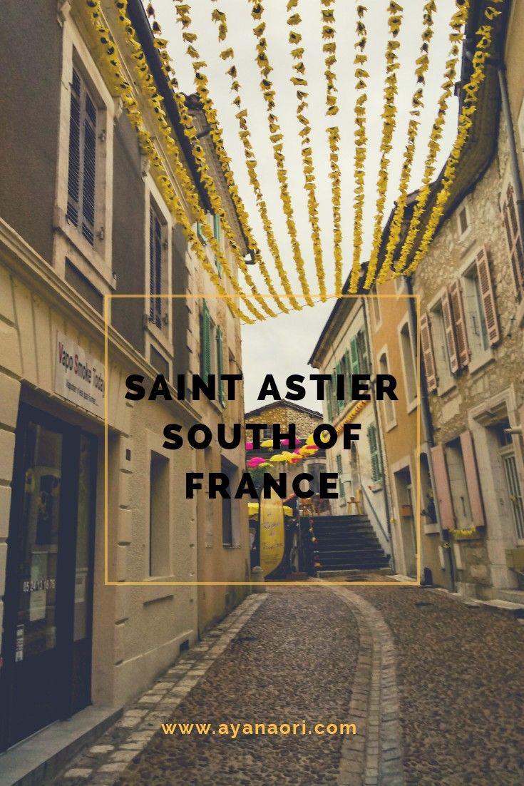 A walk through Saint Astier in southern France #france #citybreak