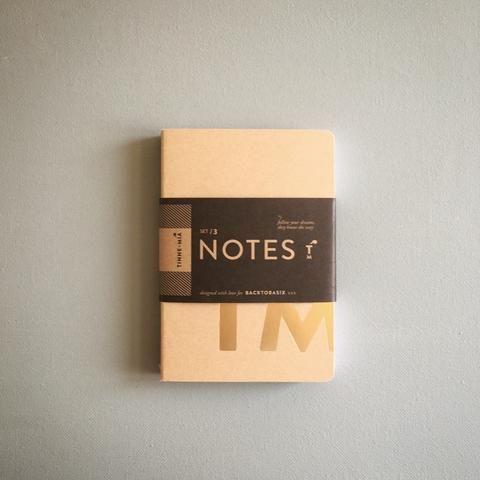Notebooks Small Tinne+Mia (set 3)