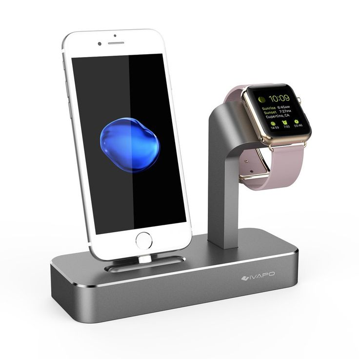 Solid Aluminum Stand Charger For Apple Watch & iPhone //Price: $50.49 & FREE Shipping //     #freeshipping