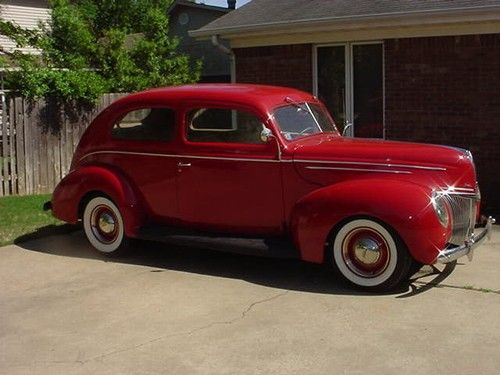 Old Classic Cars Ford Resto Rod Old Car Look With Modern