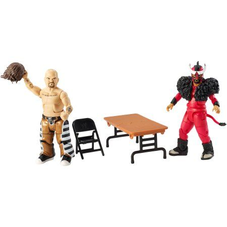 WWE 2-Pack Hornswoggle/Torito, Multicolor