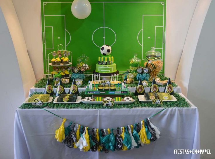 Football Birthday Party Ideas | Photo 8 of 30 | Catch My Party