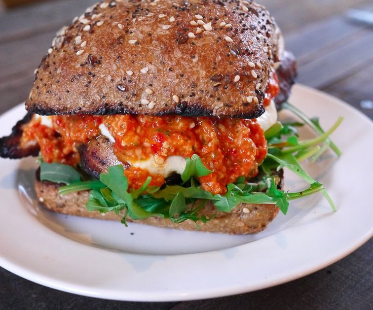 ... Roasted Red Pepper Pesto | Burgers and Sandwiches | Pinterest