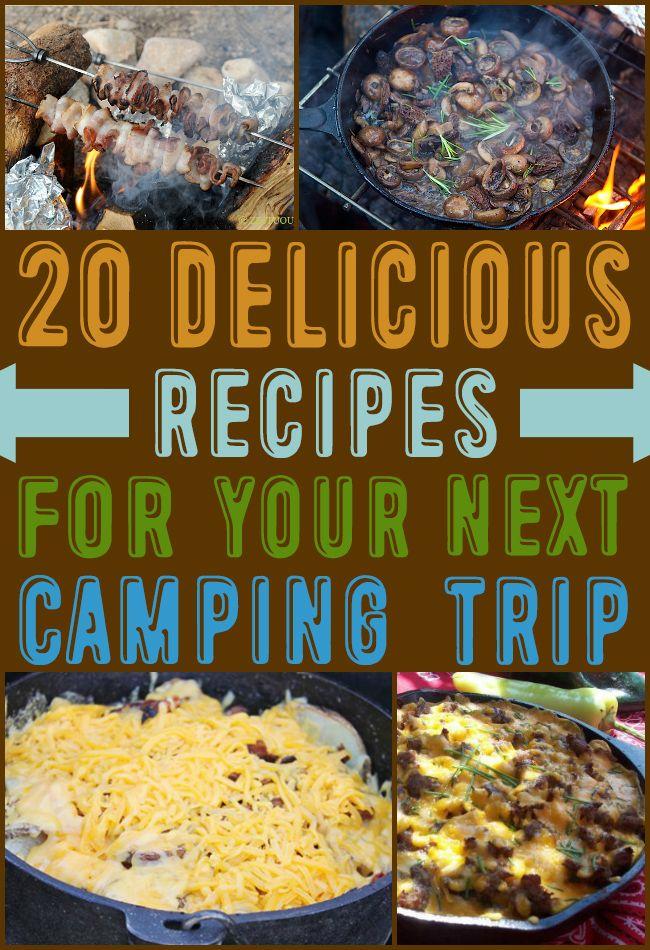 20 Delicious Camping Recipes