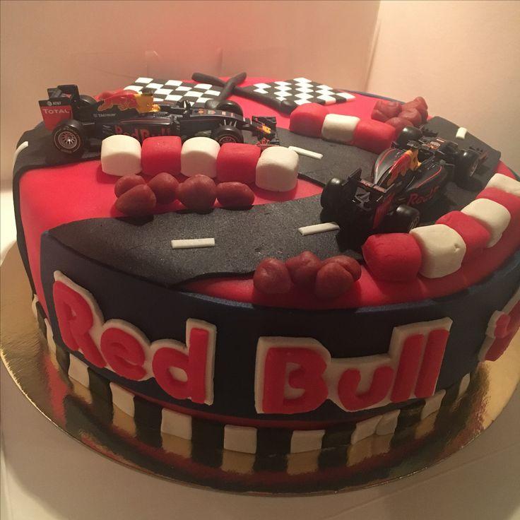 Max verstappen/red bull racing taart