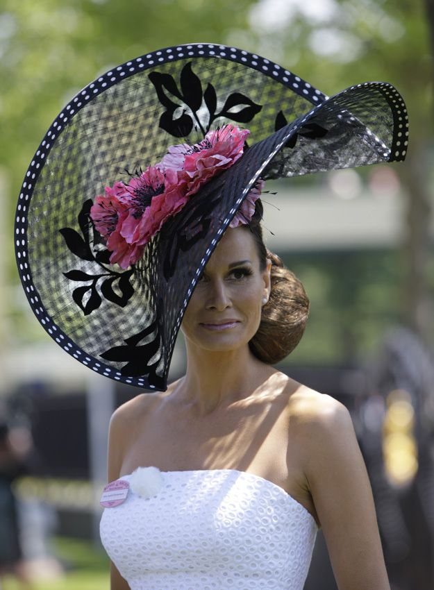 Image detail for -Press Gallery – Royal Ascot, Epsom Derby, Queen's Garden Party ... beautiful Hat