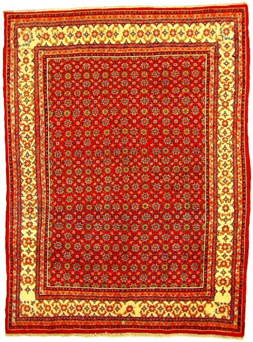 Antique Persian rugs are very special and you cannot scum off filth off your soles on these rugs.These rugs give a comforting ambience of the modern with fantastic blend of the Asian medieval life. #rugs #persianrugs