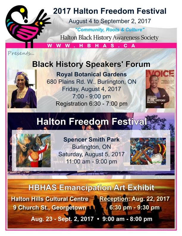 """From Francesca Durham, Burlington, ON, Canada, """"It's pretty exciting to see all the hard work come together for the HBHAS Community. Our 1st set of annual events kick off at the Royal Botanical Gardens followed by a festival at Spencer Smith Park. We end this year's events with an art exhibition in the Town of Halton Hills, Cultural Centre. Join in and participate. The cultural events are inclusive to share with all of you in our community. We'd love to see you there.""""…"""