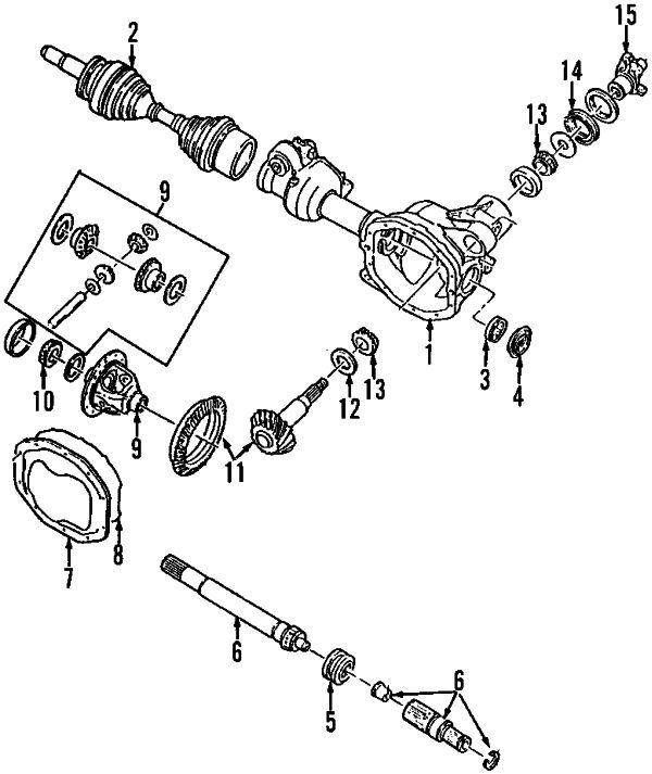 2003 FORD Explorer Parts - Ford Parts Center - Appelez (800) 248-7760 pour les pièces et les accessoires Ford authentiques - Lincoln Parts - Mercury Parts - Motorcraft Parts