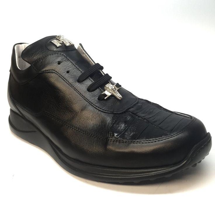 Mauri Nappa/Crocodile Italian Sneakers 8900/2