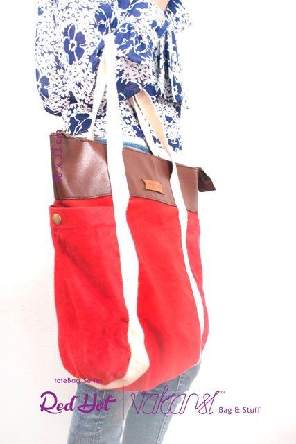 vakansi | toteBAG series RED HOT IDR. 100K for order via email vakansi_yk@yahoo.com or twitter @vakansi_