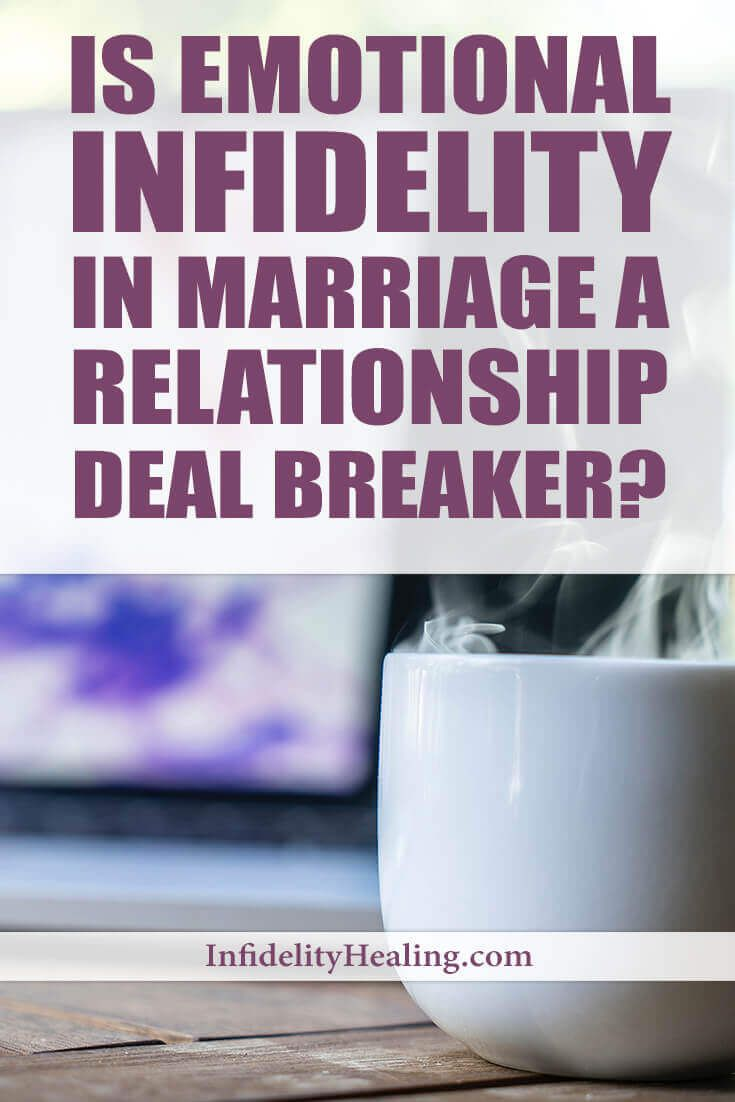How to deal with emotional infidelity