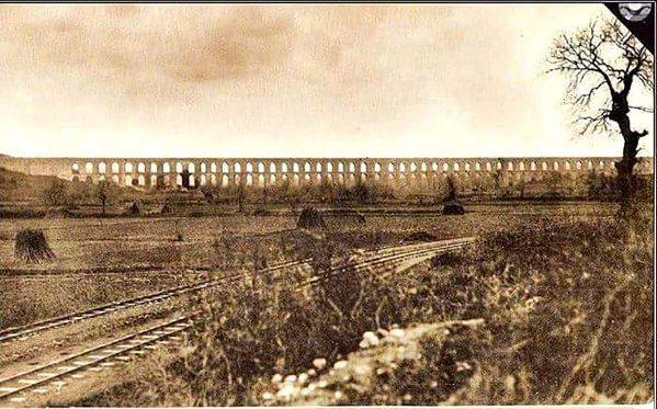 Göktürk Kemerburgaz Kemerleri (1920'ler) #birzamanlar #istanlook #nostalji