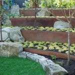seattle retaining wall ideas with contemporary gardening accessories landscape and stone steps stones