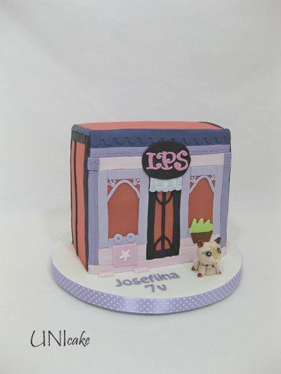 C229. Littlest Pet Shop -kakku. Littlest Pet shop cake.