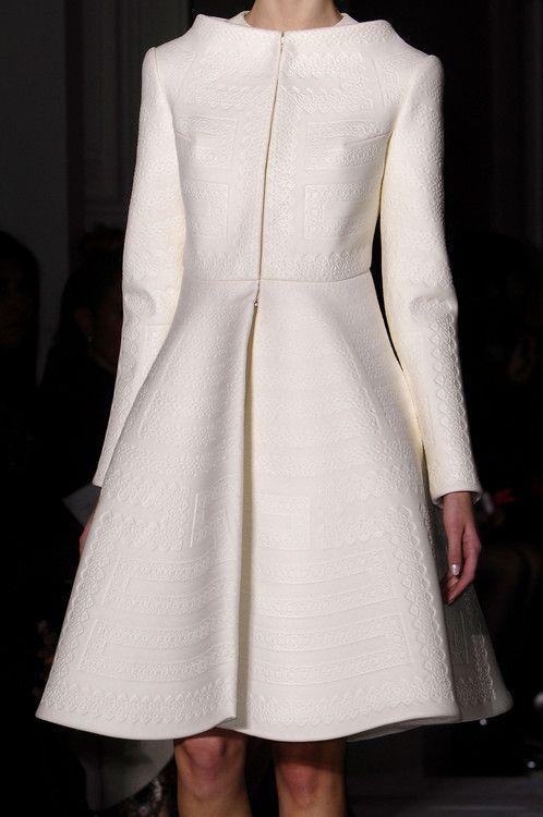 Just perfect! Valentino Coat 2014 Collection ▪ Simplemente perfecto! Abrigo de Valentino colección 2014