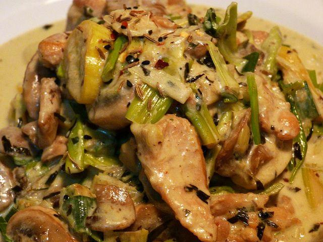 Marco Pierre White's Chicken Chasseur Recipe