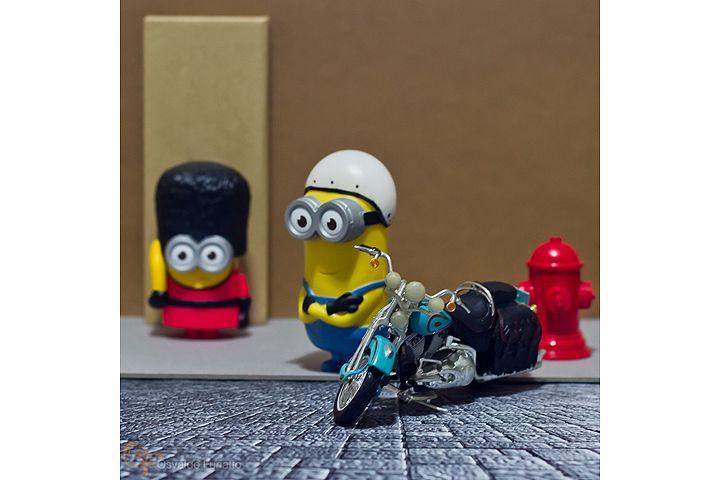 Minions em uma moto por dia: Dia 24