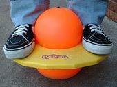 Pogoball! Never could figure this thing out