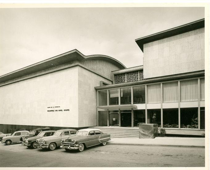 Biblioteca Luis Ángel Arango / Paul Beer / 1957 / Colección Museo de Bogotá: MdB 24703 / Todos los derechos reservados