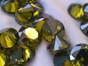 Loose Gemstones - Peridot CZ's