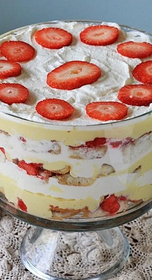 Traditional English Trifle - Amanda's Cookin'