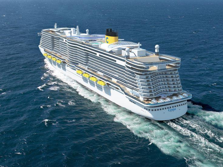 Best Costa Cruise Ships Ideas On Pinterest Costa Ships - Cruise ship gas mileage