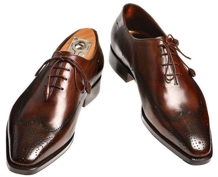 Мужская итальянская классическая зимняя обувь