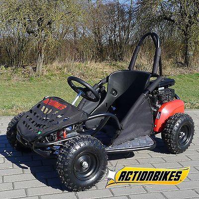 Andere Kinder Buggy GoKart SQ80GK 80cc als Quad in Breitengüßbach