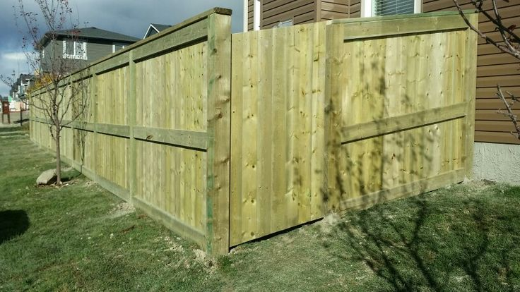 Fortress style with 4x6 posts and 2x6 framing with angled gate.......