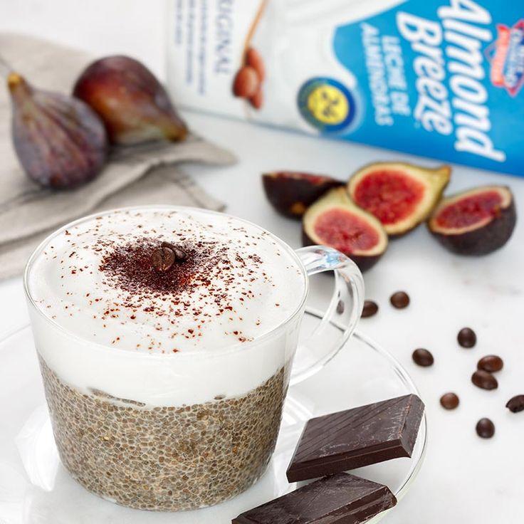 Pudding de chía elaborado con bebida de almendras Almond Breeze