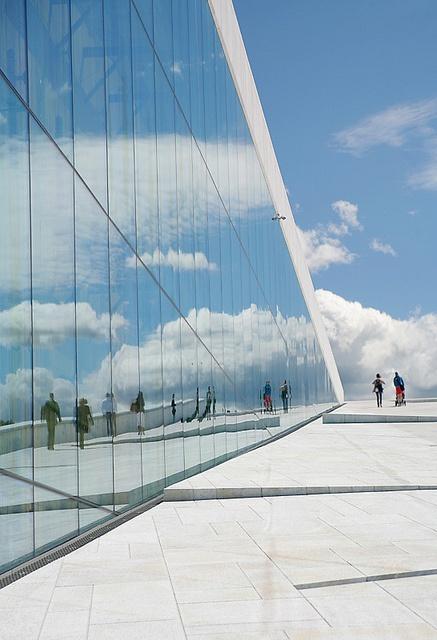 Oslo Opera House by Helena Normark, via Flickr