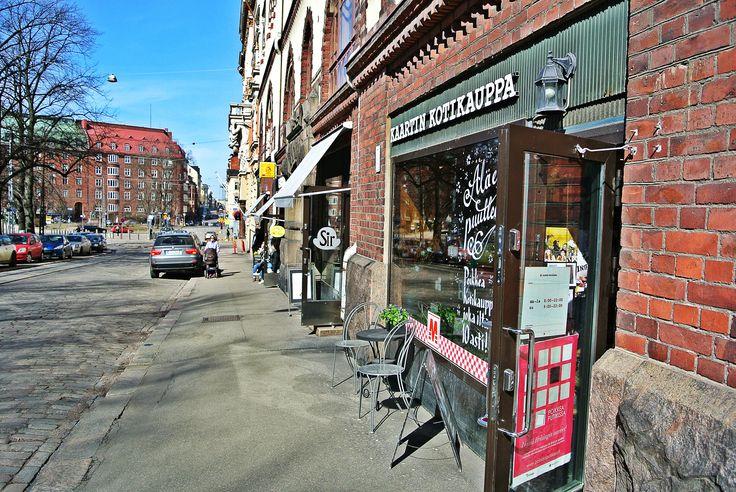 Old style general store Kaartin Kotikauppa. Cheapest coffee in Helsinki.  #food tour #Helsinki #Finnish food #Scandinavia #coffee