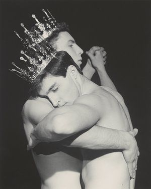 Robert Mapplethorpe: The Perfect Medium review – hunting for sex and death | Culture | The Guardian (Two Men Dancing, 1984.)