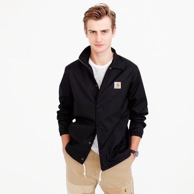 Carhartt® Work in Progress coach's jacket in black