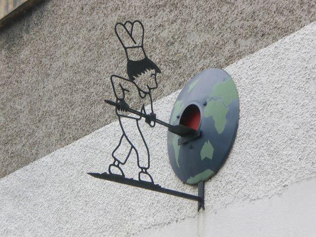 pizzeria in La Guerche, France