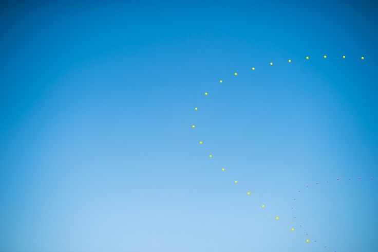 Balloons at Coachella Music Festival 2014