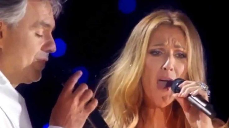Celine Dion & Andrea Bocelli - The Prayer (Live) Lyrics & HD