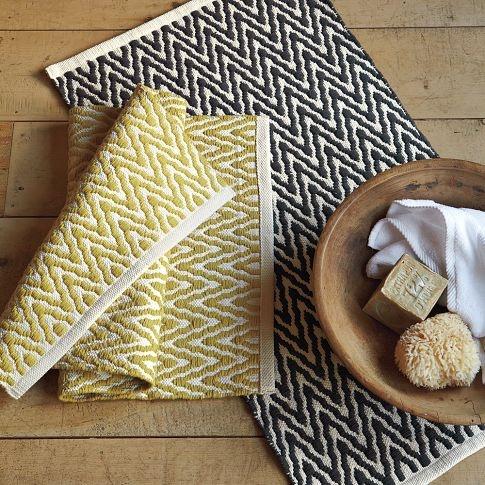 Slate bath mat