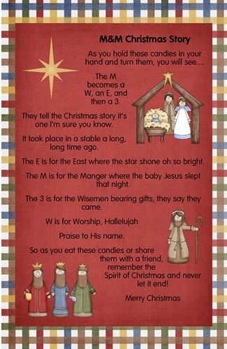 poem to help your kids remember the true meaning of Christmas :):) love
