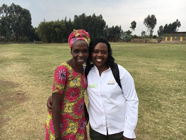 Accompanied by Bisate Lodge manager Aline, Group Sustainability Manager Dr Sue Snyman spent some in the Bisate community last week ahead of Children in the Wilderness' exciting plans to introduce CITW projects at Bisate Primary School in January 2018, with some Eco-Mentor training before then...