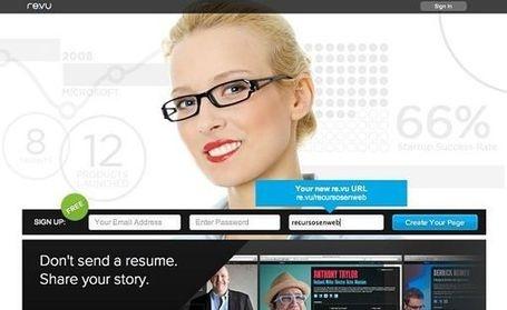 Re.vu, convierte tu currículum vitae en una infografía animada | Aplicaciones y Herramientas . Software de Diseño | Scoop.it