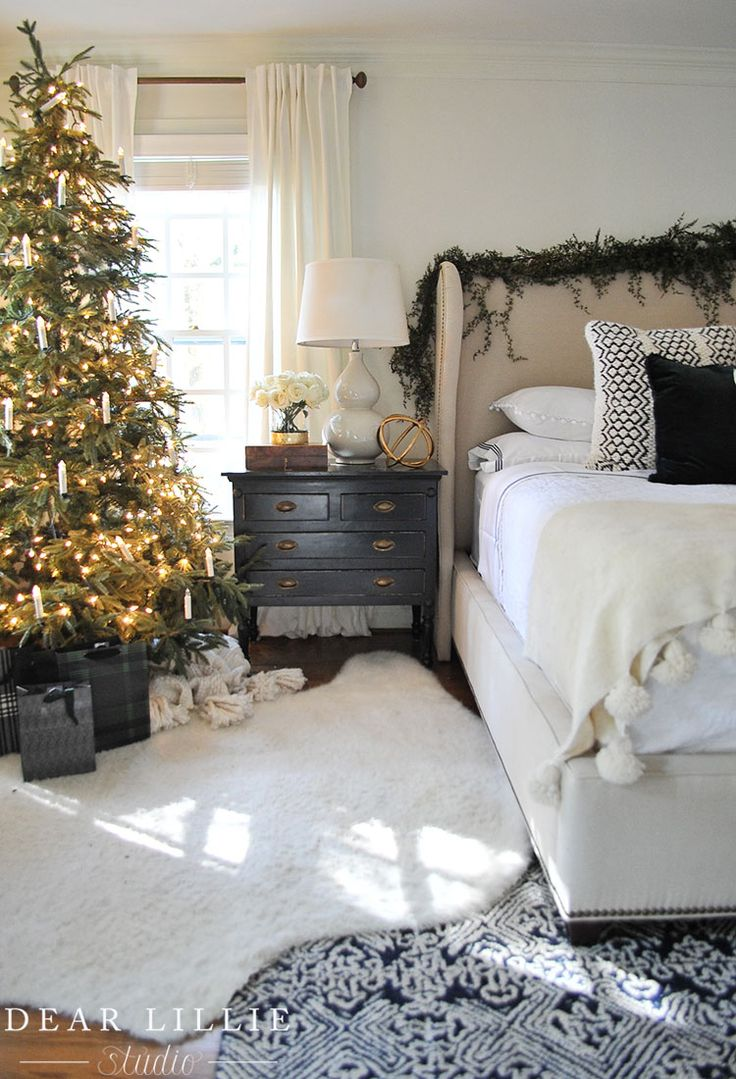 Seasons of Home – Some Christmas Touches in Our Master Bedroom