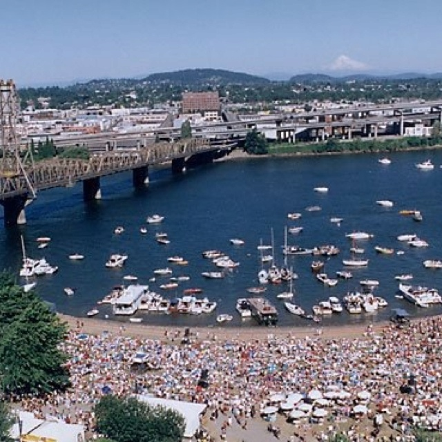 Waterfront Blues Festival Portland, Oregon.