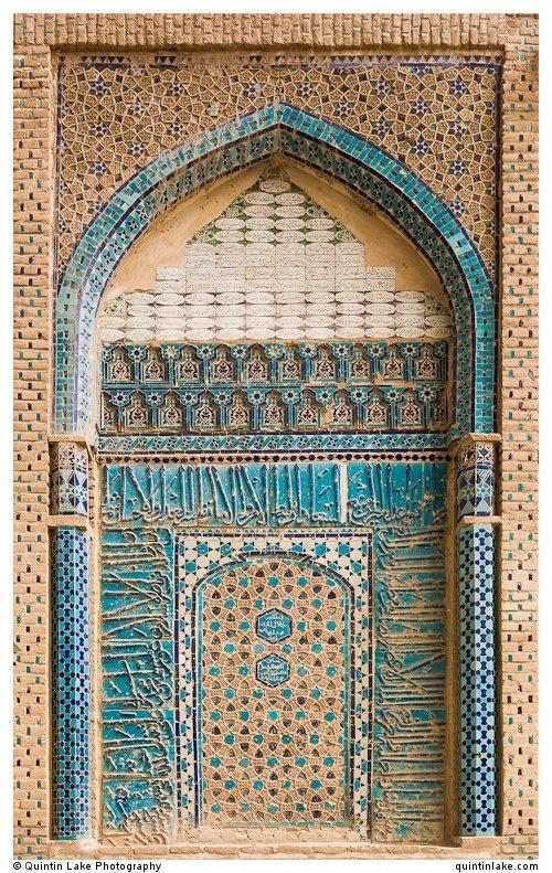 Jame Mosque Of Qazvin, Iran Iran Traveling Center irantravelingcent... #iran #travel #traveltoiran