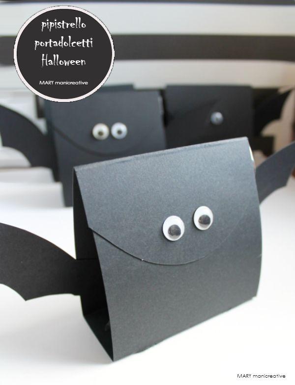 pipistrello porta dolcetti halloween