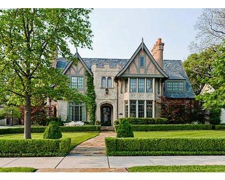A stunning English Tudor in Dallas' prestigious Highland Park.