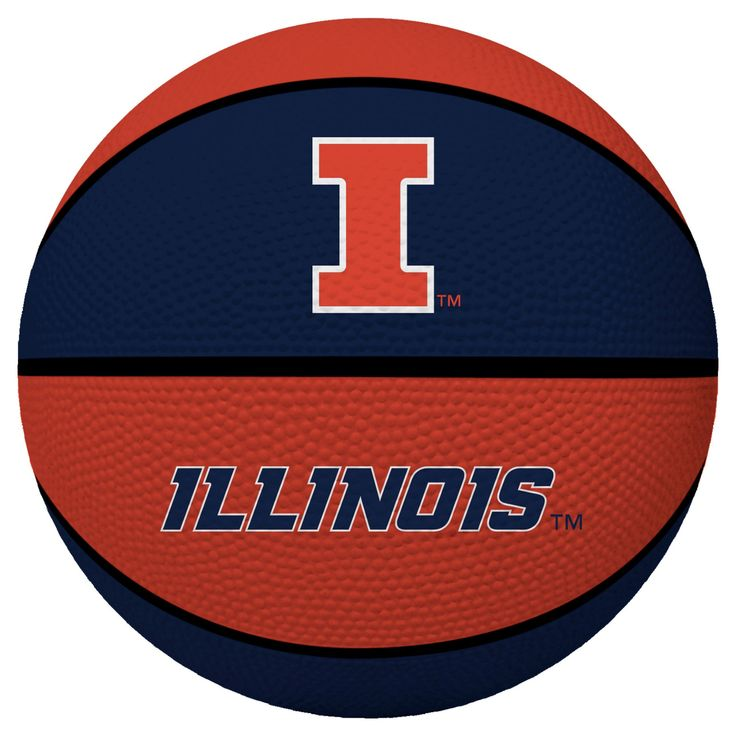 NCAA Illinois Fighting Illini Rawlings Crossover Full Size 29.5 Basketball