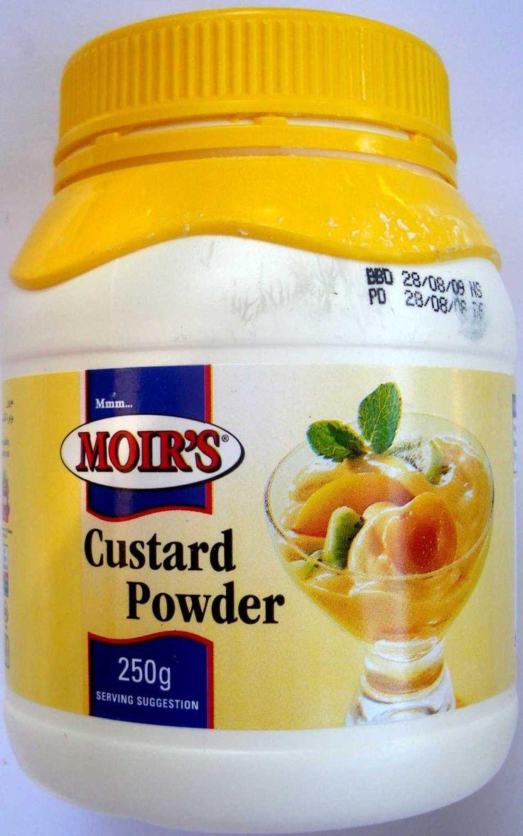 Moirs Custard Powder 250g. $3.25. Get it at www.satooz.com.au. South African food in Australia.