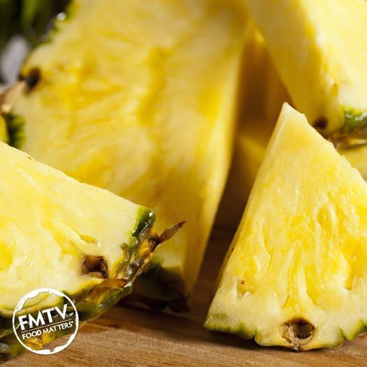 Pineapples contain the digestive enzyme bromelain, and papayas contain papain, natural enzymes that support the digestive system in breaking down and absorbing nutrients from the food we eat. Consuming fresh juice from these fruits can help relieve gas, upset stomach and occasional constipation and diarrhoea. Give a REPIN if you love these babies!   www.FMTV.com